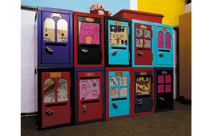 Home lockers william warren for Designer lockers