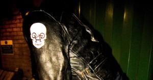 Skull Biker Stickers