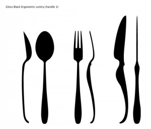 ergonomic cutlery design