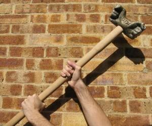 William's special hammer