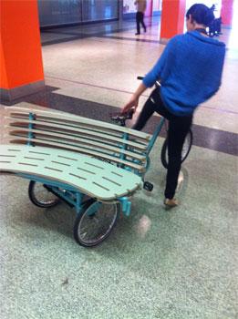 Park Bench Bike