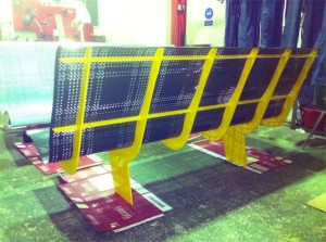 The Fife Bench in production