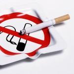 No Smoking ashtray